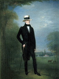 Tennessee Gentleman, portrait of Jackson, c. 1831, from the collection of The Hermitage