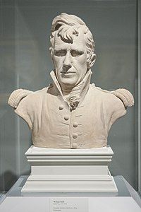 Teracotta bust of General Jackson by William Rush, 1819