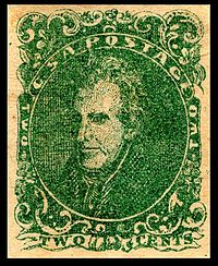 2-cent green stamp