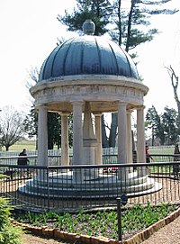 The tomb of Andrew and Rachel Jackson located at The Hermitage