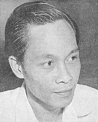 Pramoedya Ananta Toer, Indonesia's most famous novelist. Many considered him to be Southeast Asia's leading candidate for a Nobel Prize in Literature.