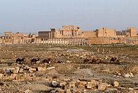 Ancient city of Palmyra before the war