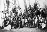 Syrian rebels in Ghouta during the Great Syrian Revolt against French colonial rule in the 1920s