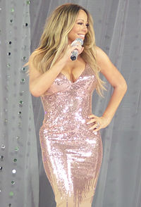 Carey performing on Good Morning America in May 2013