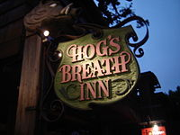 The Hog's Breath Inn in Carmel, once owned by Eastwood