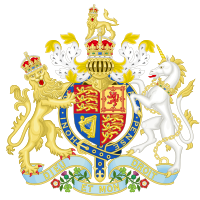Coat of arms as King of the United Kingdom (1936)