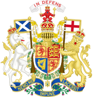 Scottish coat of arms as King of the United Kingdom (1936)