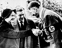 The Duke and Duchess with Adolf Hitler, 1937