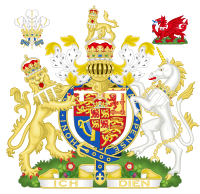 Coat of arms as Prince of Wales (1911–1936)