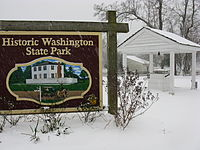 Winter at Historic Washington State Park in Hempstead County