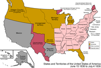 Arkansas Territory became the 25th state on June 15, 1836.