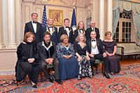 Eagles pictured at the Kennedy Center Honors
