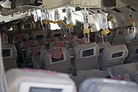 The rear cabin after the crash
