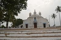 Chapel of St. Sebastian on the monte (hill). The annual feast is held in January every year.