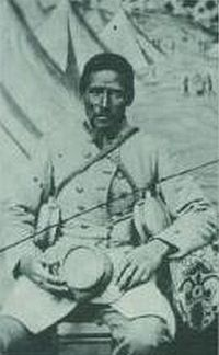 """""""Marlboro"""", an African-American body servant to a white Confederate soldier"""