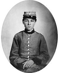 Private Edwin Francis Jemison, whose image became one of the most famous portraits of the young soldiers of the war