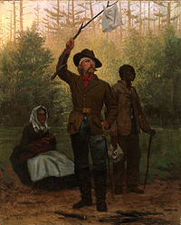 Julian Scott's 1873 painting, Surrender of a Confederate Soldier