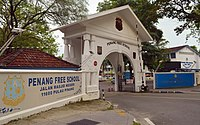 Penang Free School, founded in 1816, is the oldest English school in Southeast Asia.