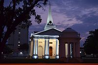 Built in 1818, St. George's Church in George Town is the oldest Anglican church in Southeast Asia.