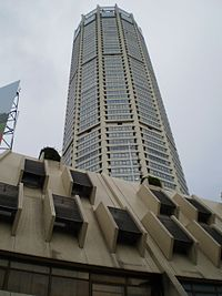 The Komtar Tower, Penang's tallest skyscraper, was built in the 1970s.