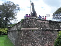 Fort Cornwallis in George Town was built on the spot where Francis Light first set foot in 1786.