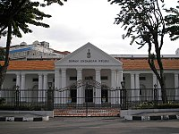 The State Assembly Building in George Town, where the Penang State Legislative Assembly convenes.