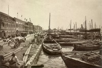 The Port of Penang in George Town in the 1910s