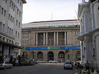 Standard Chartered and HSBC at Beach Street, George Town's main Central Business District