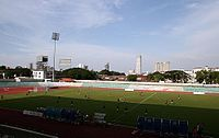 The City Stadium in George Town.