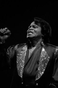"""James Brown was known as the """"Godfather of Soul"""""""