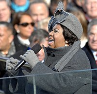 """Aretha Franklin is widely known as the """"Queen of Soul"""""""