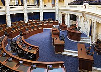 Chamber of the House of Representatives in 2018