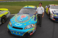 Gordon with the Department of Defense paint scheme run at the 2007 Coca-Cola 600