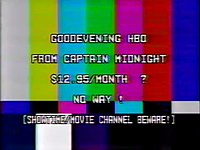 Captain Midnight broadcast signal intrusion