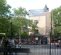 Bloomingdale Playground, which retains the old name of Bloomingdale Road