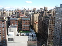 View from 79th Street and West End Avenue