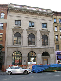 New York Public Library, St Agnes branch