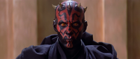 The face of Darth Maul drew upon depictions of the devil.