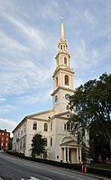 The First Baptist Church in America is the oldest Baptist congregation in America. It was founded 1638, though the present building was occupied in 1776.