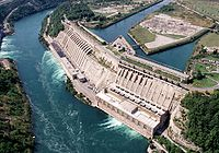 The Sir Adam Beck Hydroelectric Generating Stations are hydroelectric plants located in Niagara Falls.
