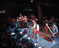 Iranian rock band Kiosk, live in 2007