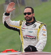 Paul Menard, who finished sixth in points, was the highest-finishing series regular in the standings.