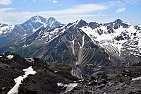 Mount Elbrus, located in Russia, is the highest mountain in Europe.