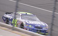 Jimmie Johnson's No. 48 Lowe's Chevrolet at California in 2005