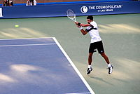 Djokovic at the 2010 US Open