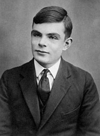 The pioneering computer scientist Alan Turing provided a formalisation of the concepts of algorithm and computation with the Turing machine.