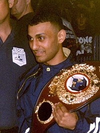 """Featherweight champion """"Prince"""" Naseem Hamed was a major name in boxing and 1990s British pop culture"""