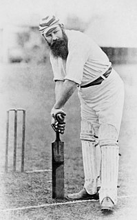 Cricketer W. G. Grace, with his long beard and MCC cap, was the most famous British sportsman in the Victorian era.
