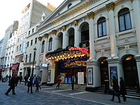 Music hall evolved into variety shows. First performed in 1912, the Royal Variety Performance was first held at the London Palladium (pictured) in 1941. Performed in front of members of the Royal Family, it is held annually in December and broadcast on television