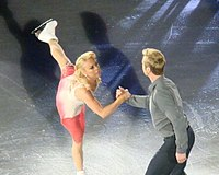 Ice dancers Torvill and Dean in 2011. Their historic gold-medal-winning performance at the 1984 Winter Olympics was watched by a British television audience of more than 24 million people.